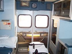 Ambulance 51 Interior