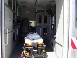 Ambulance 52 Interior