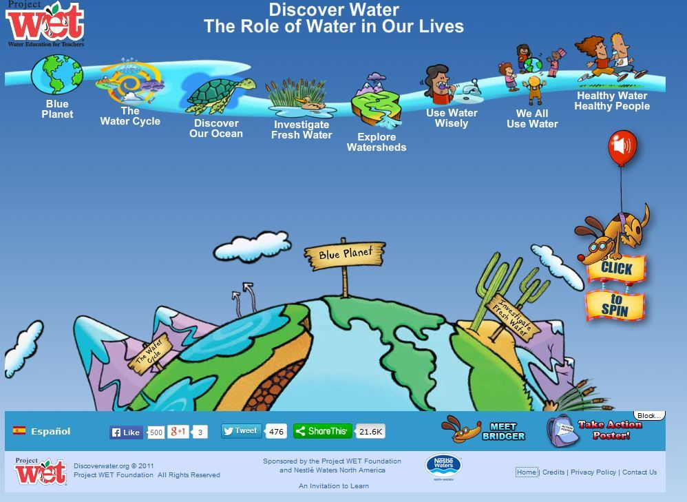 Discover Water: The Role of Water in Our Lives