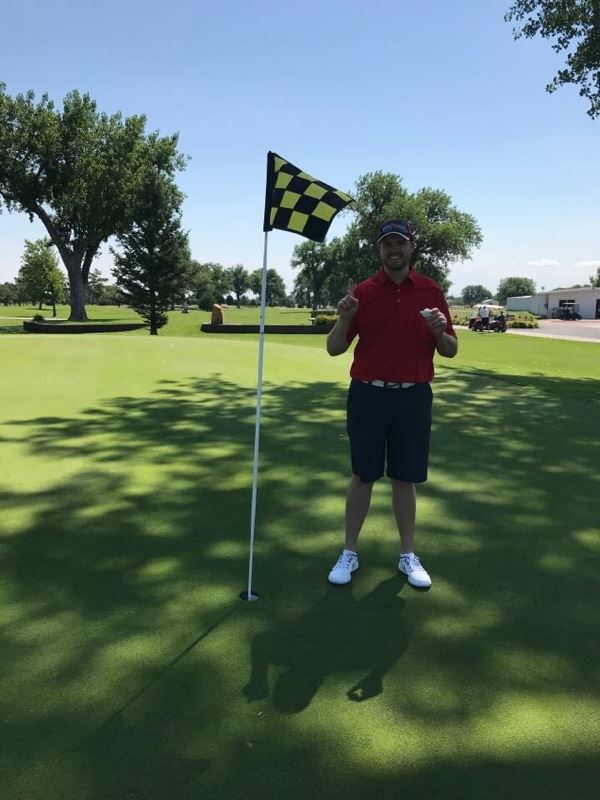 Ryan Yung - Hole 9 Hole-in-One Using 9-Iron, 141 Yards